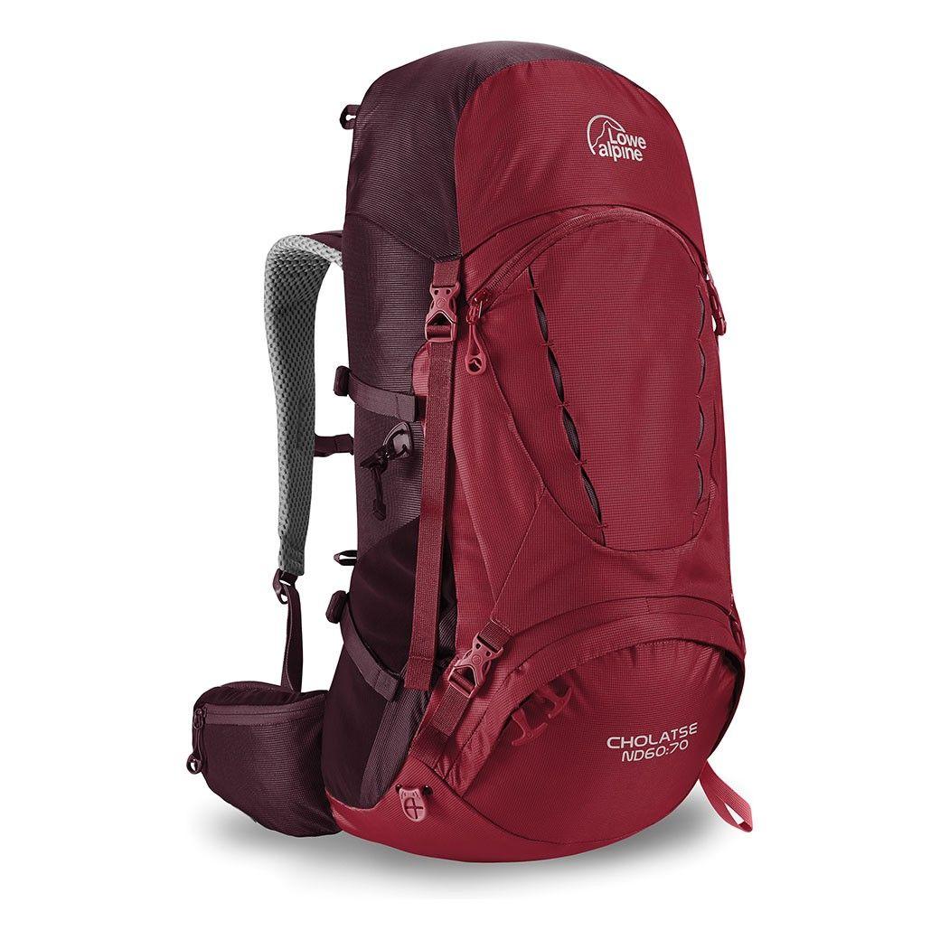 Tazz-Sport - Lowe Alpine Cholatse ND 60:70 Rio Red / Fig