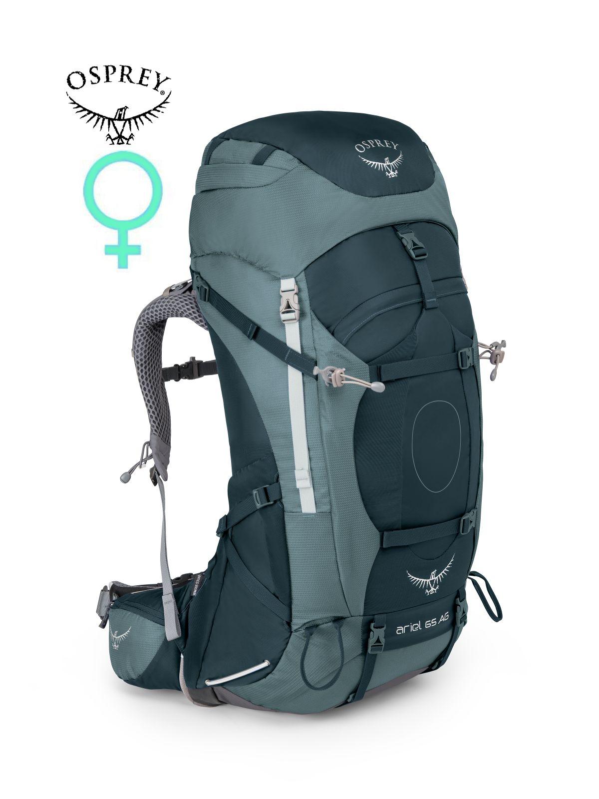 Tazz-Sport - Osprey Ariel AG 65 boothbay grey