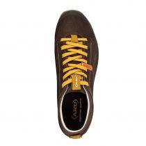 Tazz-Sport - AKU Bellamont Suede GTX dark brown / yellow