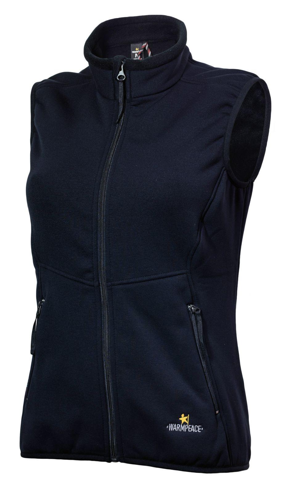 Tazz-Sport - Warmpeace Trailmark Lady Powerstretch black vesta